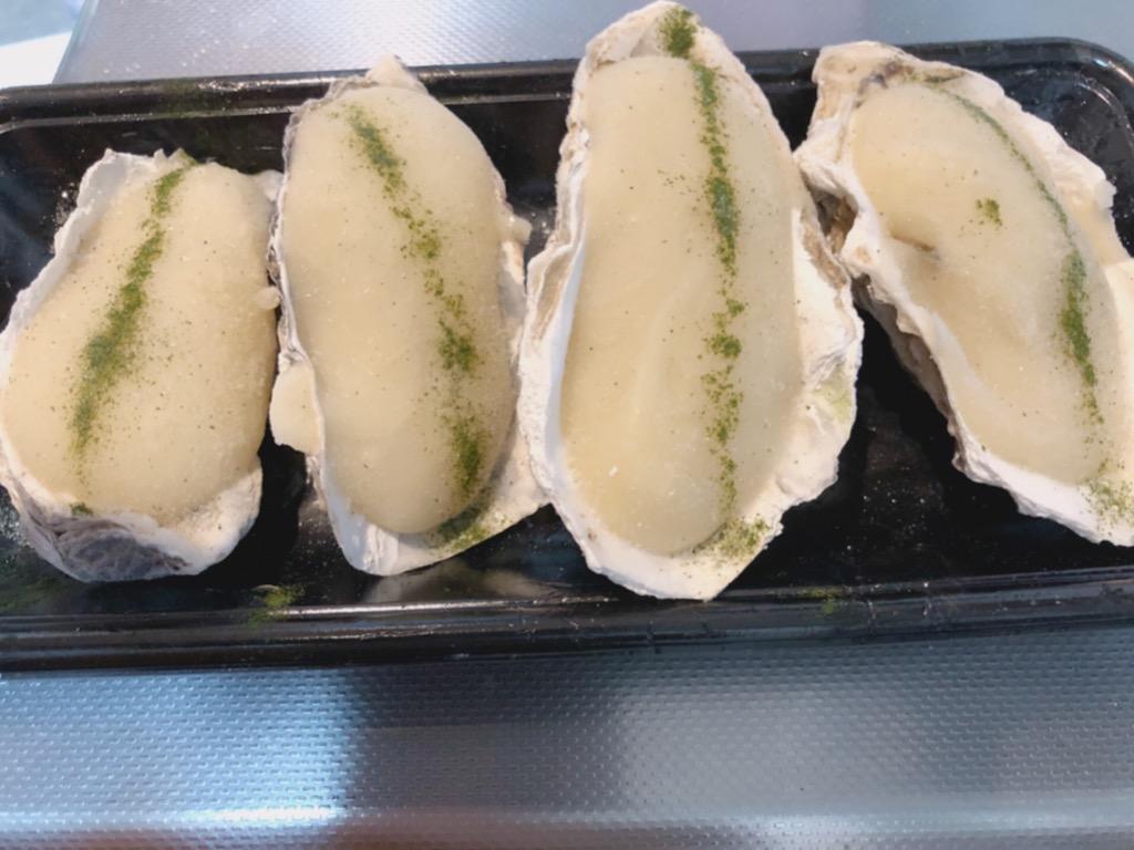 牡蠣グラタン調理前