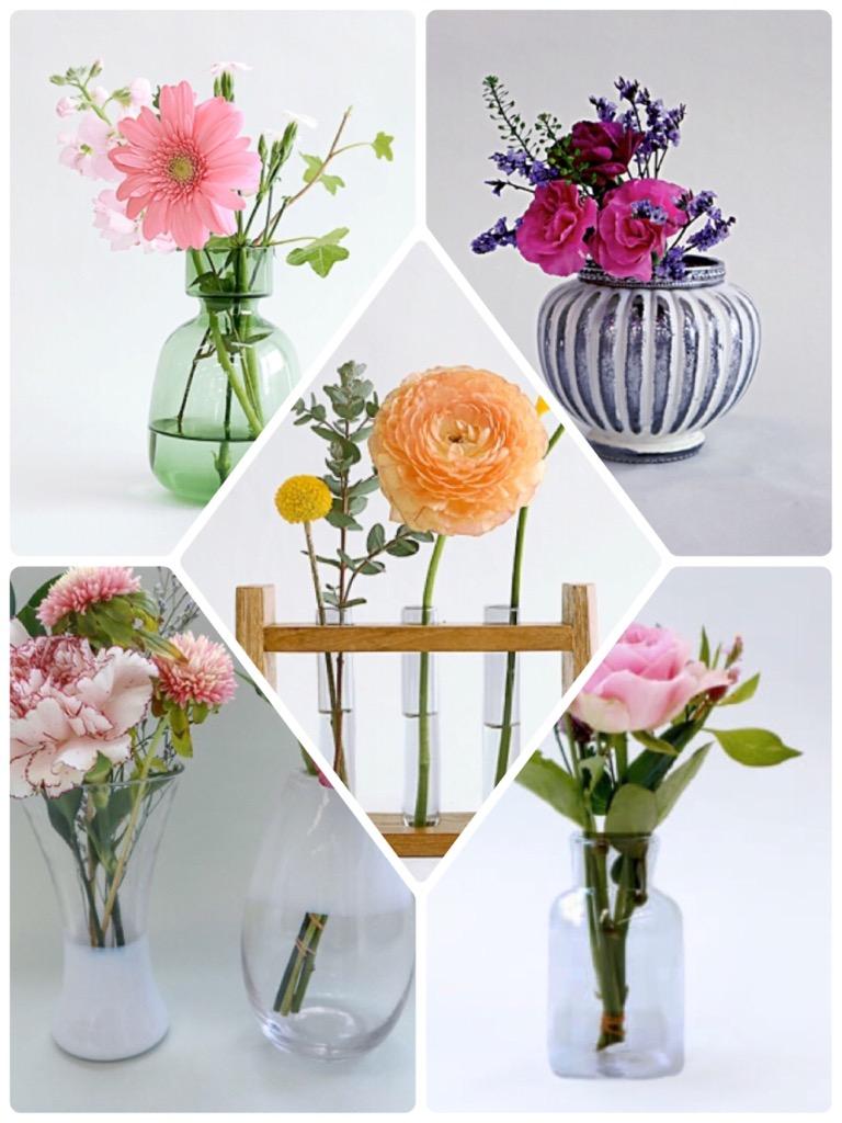 ブルーミーライフの花瓶たち