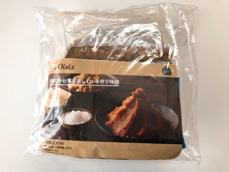 オイシックスの味噌キット・パッケージ